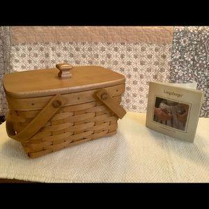 Longaberger Little Market Basket (#17780)